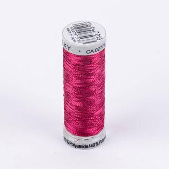 Gütermann Metallic Effektgarn Nähgarn Stickgarn Metalleffekt-Faden Metallic Farbnr. 7013 pink 200 Meter/Spule