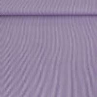 Baumwollstoff Streifen lila weiß 1,4m Breite