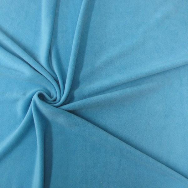 polar fleece stoffe fleecestoff antipilling t rkis stoffe stoffe uni fleece. Black Bedroom Furniture Sets. Home Design Ideas