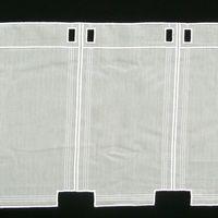 Bistrogardine Scheibengardine Meterware Voile Stickerei creme 60cm Höhe 001