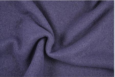 Bekleidungsstoff Walkloden Wolle blau Meterware
