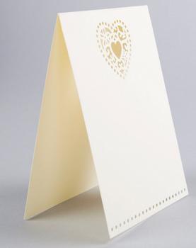 Hochzeitseinladungskarten Einladungskarten 10 Stück beige 14x10cm