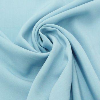 Bekleidungsstoff Radiance Viskose hellblau 1,45m Breite