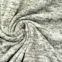 Strickstoff grau meliert 1,50m Breite