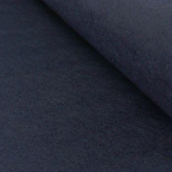 Bastelfilz einfarbig dunkelblau 45cm Breite 4mm Stärke