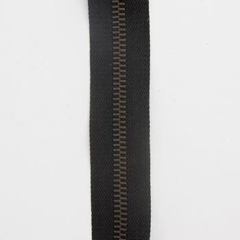 Prym Zweiwege Reißverschluss Metall schwarz Länge: 80cm – Bild 1