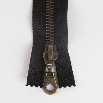 Prym Zweiwege Reißverschluss Metall schwarz Länge: 75cm – Bild 4