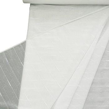 Stores grob mit Bleiband weiß 260cm hoch