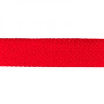 Gurtband Baumwolle rot Breite: 4cm