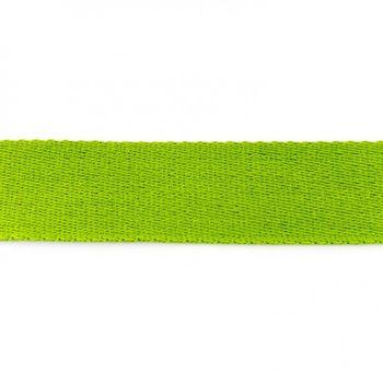 Gurtband Baumwolle grün Breite: 4cm