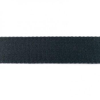 Gurtband Baumwolle dunkelgrau Breite: 4cm