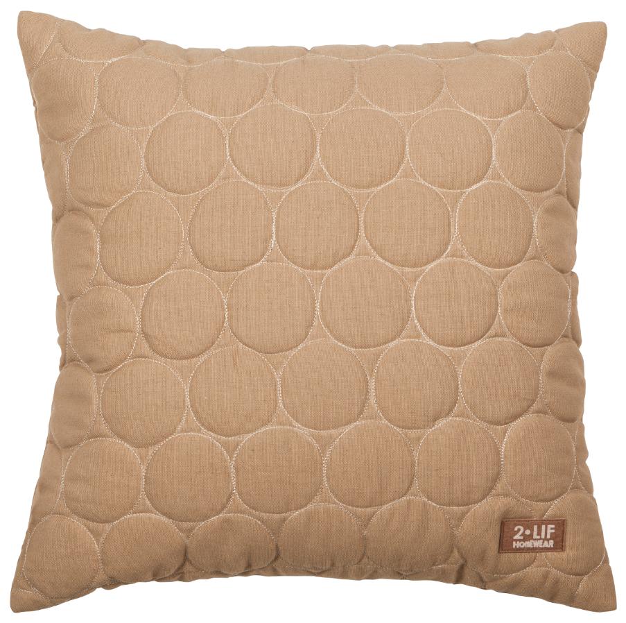 kissen deko liam kreise natur 47x47cm farbwelten naturt ne. Black Bedroom Furniture Sets. Home Design Ideas