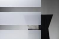 Statische Sichtschutzfolie Shade Streifen 90cmx1,5m 001