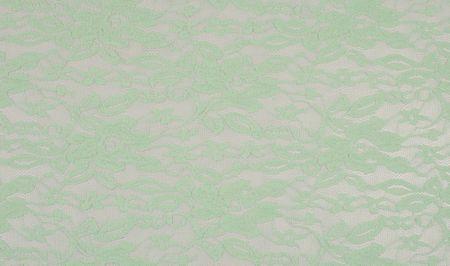 Bekleidungsstoff Elastische Spitze Spitzenstoff mint grün