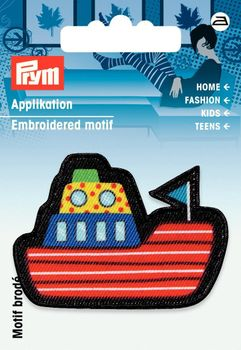 Prym Applikation Schiff 6x4cm