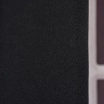 Verdunkelungsvorhang mit Universalband SOPRAN schwarz 175x140cm – Bild 3