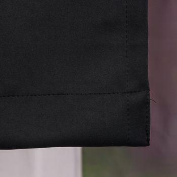 Verdunkelungsvorhang mit Universalband SOPRAN schwarz 175x140cm – Bild 4
