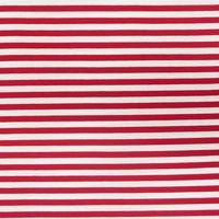 Jersey Viskose Streifen 1cm rot weiß