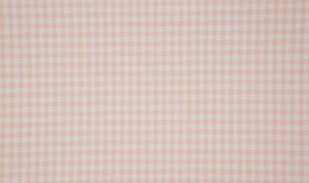 Baumwollstoff kariert weiß puder rosa 5mm
