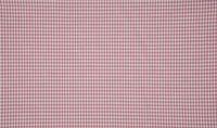 Baumwollstoff kariert weiß altrosa 2mm 1,4m Breite