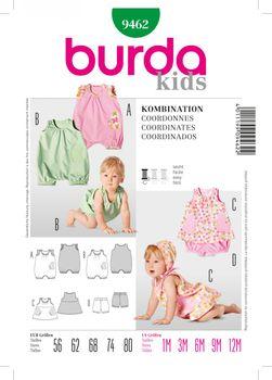 Burda Schnittmuster 9462 Kombination – Bild 1
