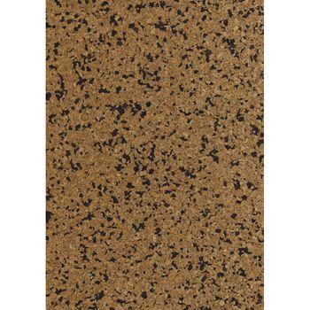 Korkstoff Granulat braun schwarz 0,5mm 45x30cm gerollt – Bild 1