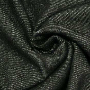 Jeansstoff Stoff Jeans 9,5OZ schwarz