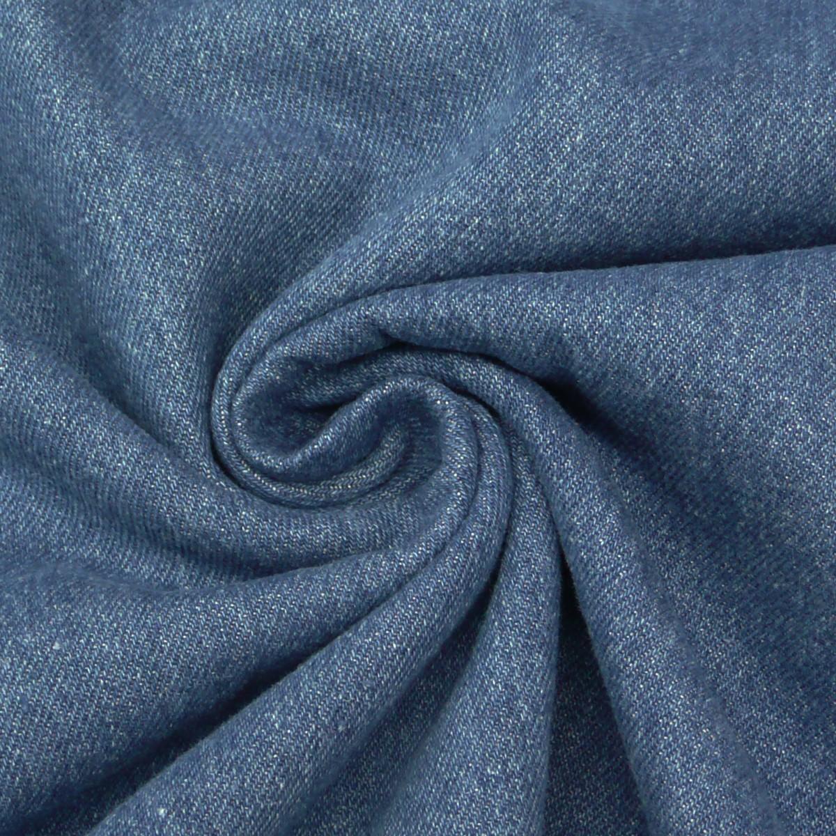 Jeansstoff Stoff Jeans 9,5OZ jeansblau denim