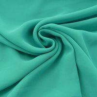 Chiffon Meterware smaragd grün 001