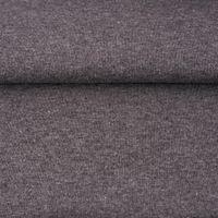 Strickschlauch Bündchenstoff fein grau meliert 30cm Breite