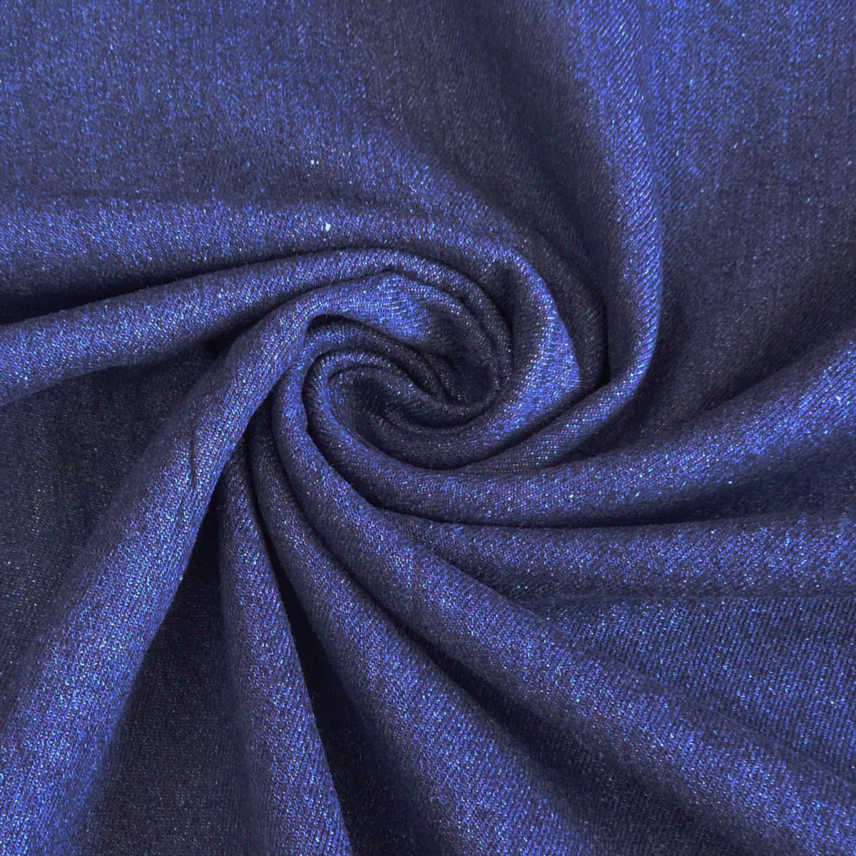 Jeansstoff Stoff Jeans 9,5OZ indigo blau