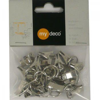 Seil Seilklammern für Seilspanngarnituren 20Stück nickel