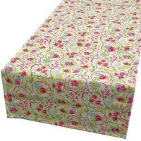 Schöner Leben Tischläufer Paisley Rose Chintz creme blau gelb rosa 40x160cm 001