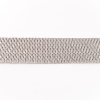 Gurtband hellgrau Breite: 4cm