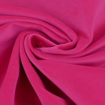 Bezugsstoff Polsterstoff Samtstoff Samt pink – Bild 1
