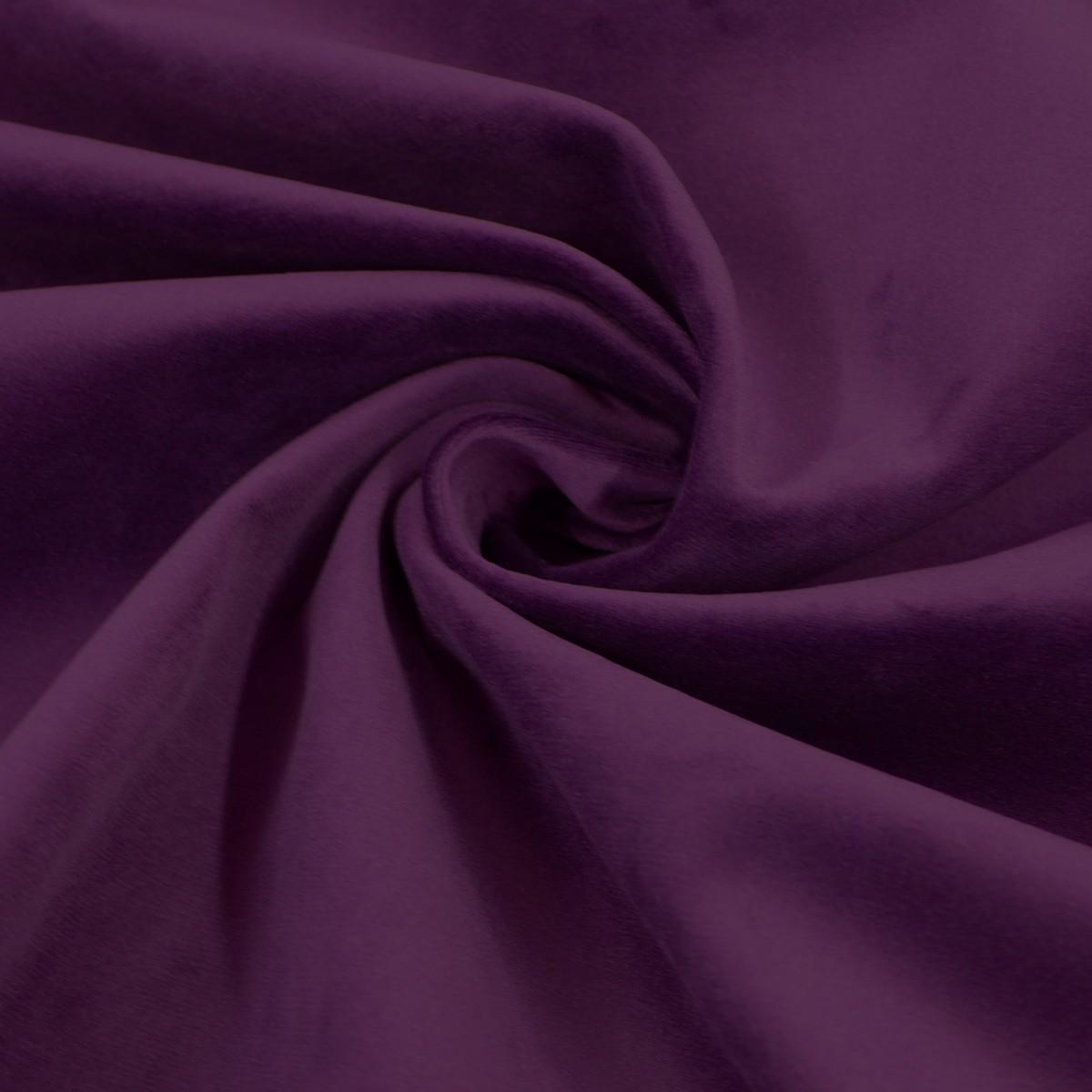 Möbelstoff Polsterstoff Bezugstoff Samtstoff Samt beere lila 1,40m breit