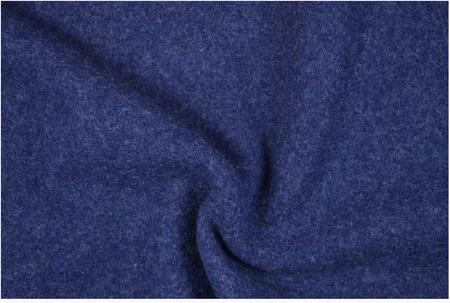 Bekleidungsstoff Walkloden Wolle royalblau blau