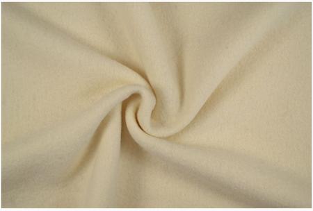 Bekleidungsstoff Walkloden Wolle creme