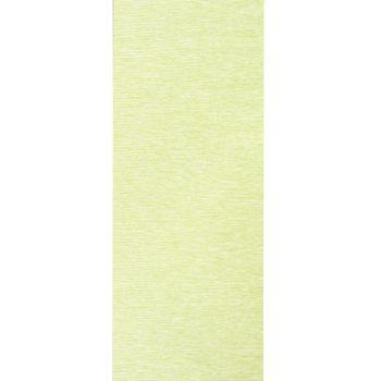 Voile Stoff Gardine Paneele Meterware Streifen grün meliert 40cm Breite – Bild 1