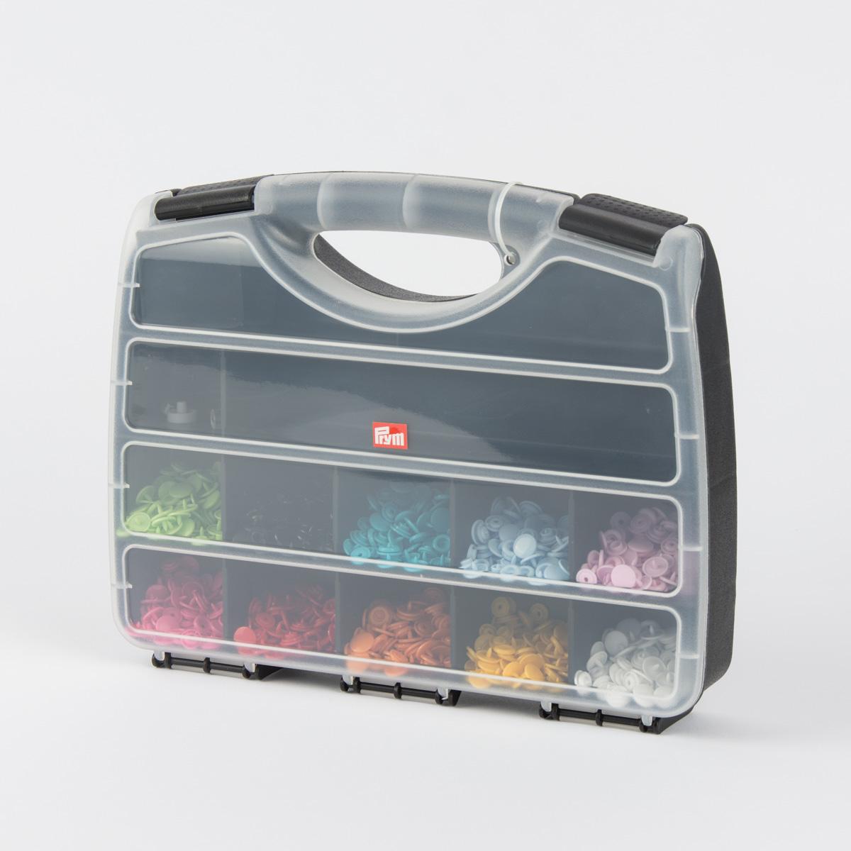 Prym Color Snaps-Box Starterset Komplettset inkl. Werkzeug und 10x30 Snaps
