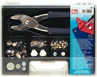 Prym Vario-Plus Sortimentskasten Druckknöpfe Ösen 24x18cm 001