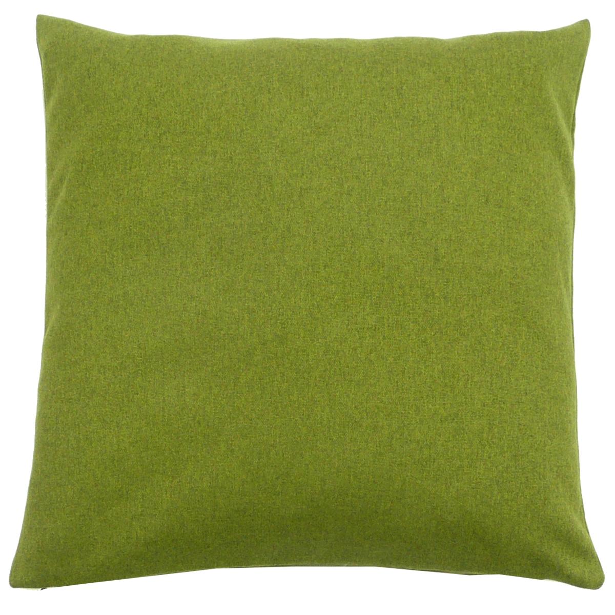 kissenh lle filzo filzstoff gr n meliert 50x50cm. Black Bedroom Furniture Sets. Home Design Ideas