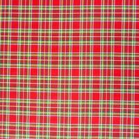 Dekostoff Baumwollstoff kariert rot grün gelb blau weiß 001