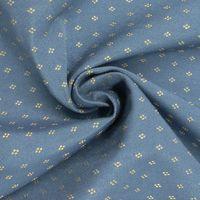 Möbelstoff Bezugsstoff Ottobrunn blau beige  001