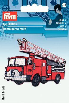 Prym Applikation Feuerwehrauto ca. 7x5cm