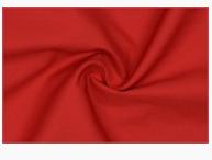 Baumwoll Popeline Bekleidungsstoff rot 1,4 m Breite
