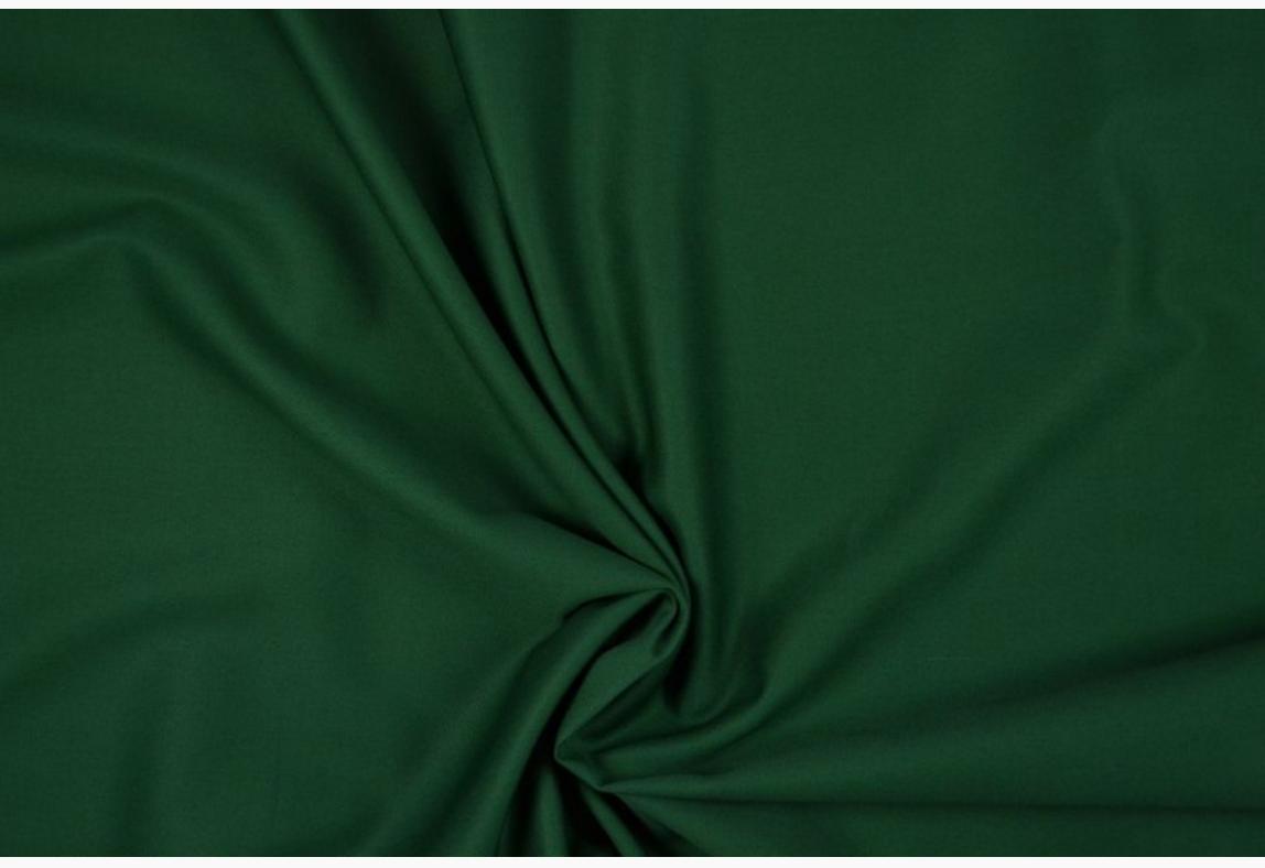 Bekleidungsstoff Baumwoll Köper dunkelgrün 1,4m Breite