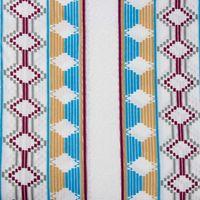 Afrikanischer Baumwollstoff Wax Block Prints Sanhe beidseitig bedruckt 001