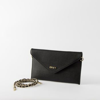 House of  Envy Handtasche Clubbing Clutch schwarz