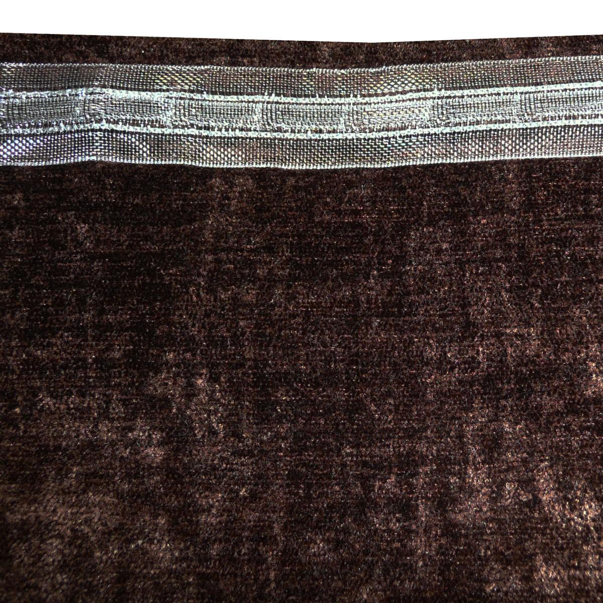 thermo chenille vorhang fertigvorhang k lteschutz schallschutz verdunkelung inuit braun. Black Bedroom Furniture Sets. Home Design Ideas